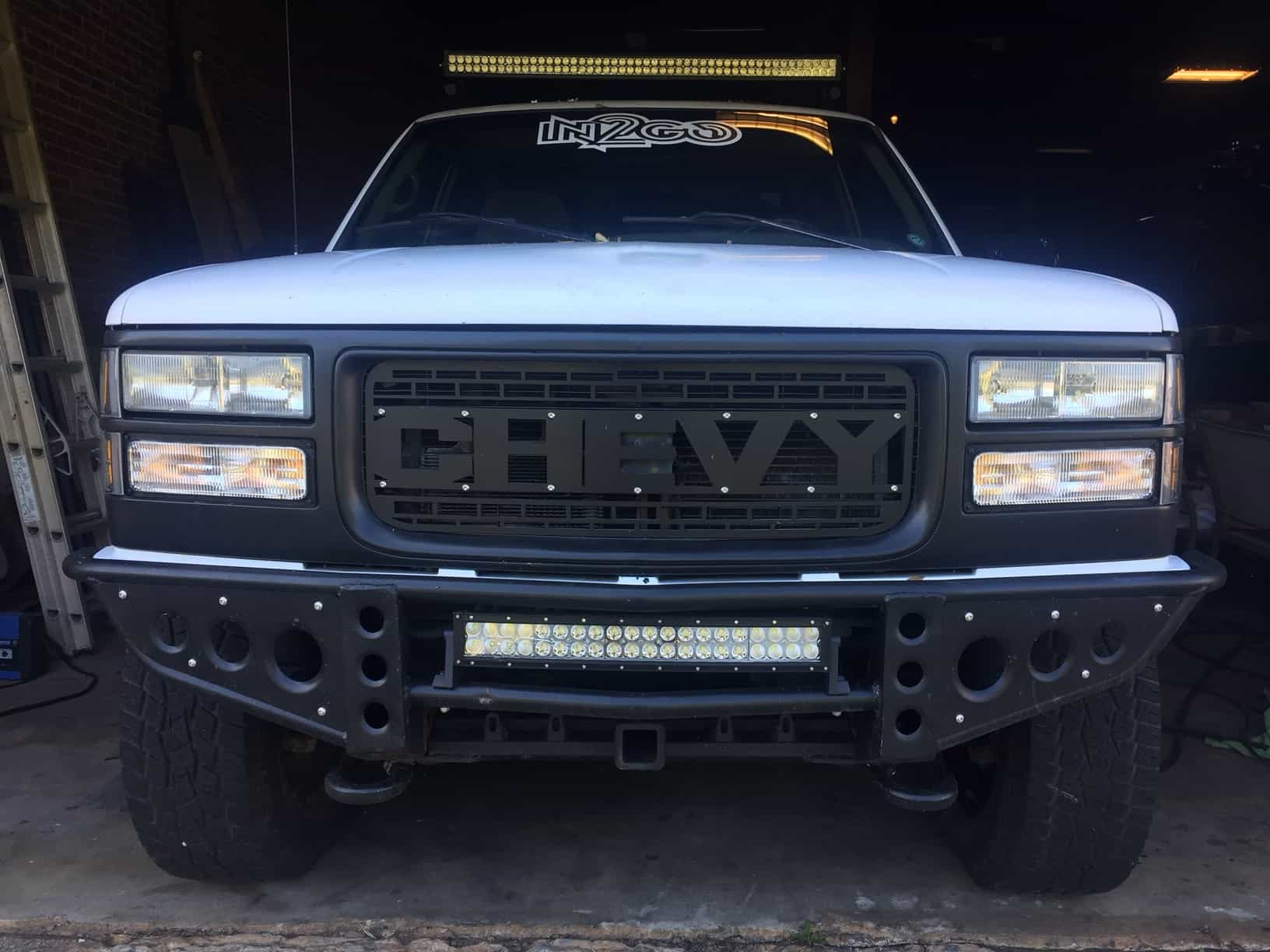 Chevy Ford Raptor Style Grill